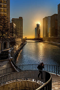 Good morning Chicago by Yves Keroack