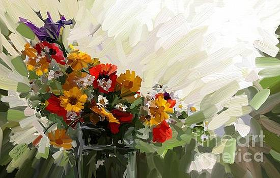Good Morning Flowers by Carrie Joy Byrnes