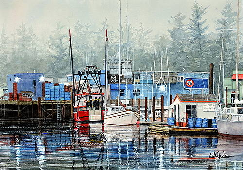 Good Morning Newport by Bill Hudson