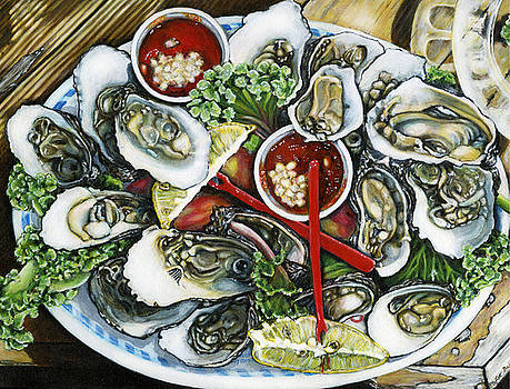 Good Oysters by Leo Malboeuf