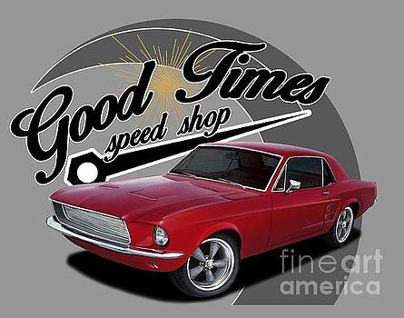 Good Times Mustang by Paul Kuras