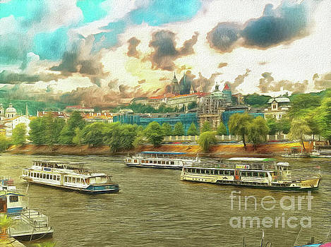 Goodbye Prague by Leigh Kemp