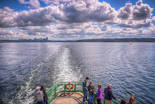 Goodbye Seattle by Spencer McDonald