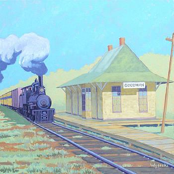 Goodman Depot.  by Stephen Wysocki