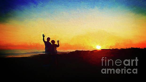 Goodnight Mr. Sun  by John A Rodriguez
