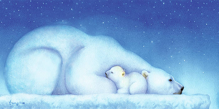 Arctic Bears, Goodnight Nanook by Tracy Herrmann
