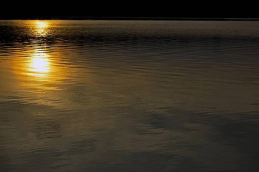 Goodnight Sun Moraine State Park Pennsylvania by Kristen Vota