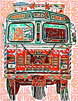 Goods Carrier India by Lita Kelley
