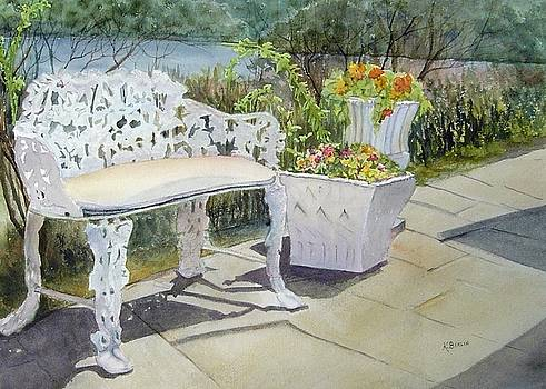 Goodspeed Patio by Katherine  Berlin