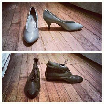 #goodwill #shoes #bargain by Melanie Conway