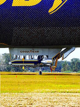 Goodyear Blimp 002  by Chris Mercer