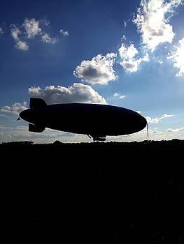 Goodyear Blimp 006  by Chris Mercer