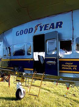 Goodyear Blimp 012  by Chris Mercer