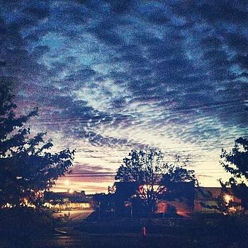 Goooood Morning...the Sky Looks So by Jennifer Wright