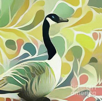 Goose Garden by Nina Silver