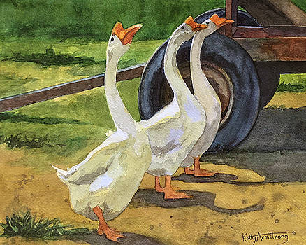 Goose Parade by Kathy Armstrong
