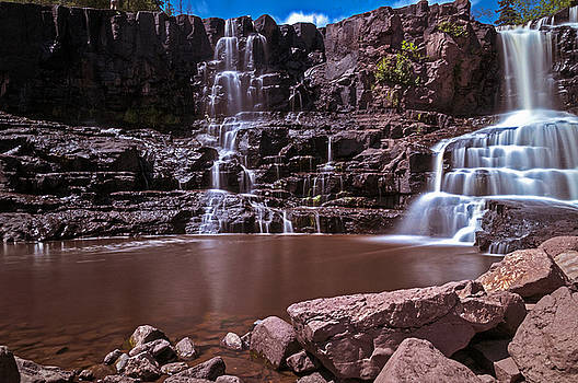 Gooseberry Falls Long Exposure by Lonnie Paulson