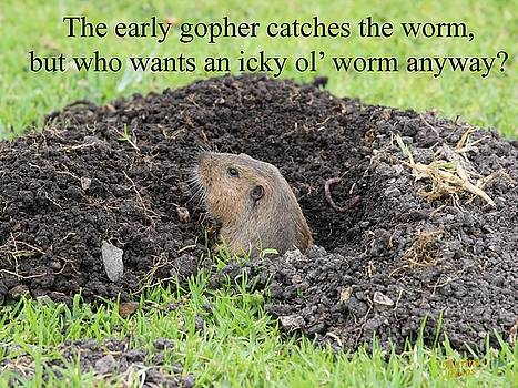 Gary Canant - Gopher Greeting Card