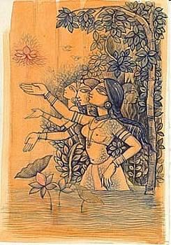 Gopika by Yatindra Jasmathiya