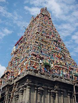 Gopuram at Chennai by Subinoy Das