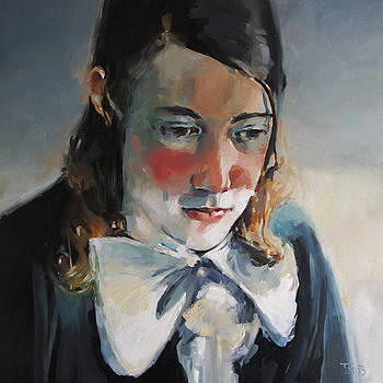 Young Man with Tie by Tony Belobrajdic