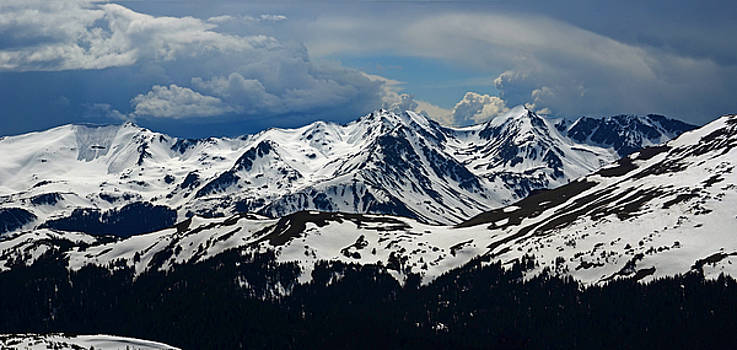 Gore Mountain Range colorado by Charles Frieda