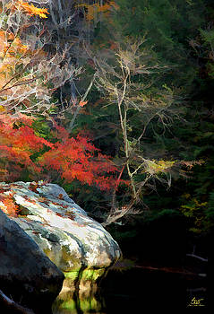 Sam Davis Johnson - Gorge Boulders 1