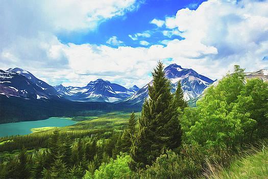 Gorgeous Glacier National Park by Kay Kochenderfer