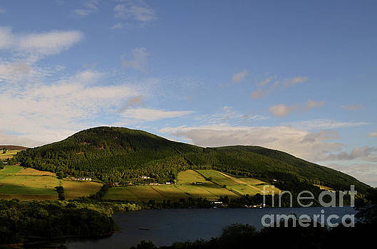 Gorgeous Landscape Surrounding Loch Ness in Scotland by DejaVu Designs
