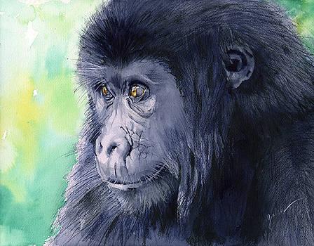 Gorilla by Galen Hazelhofer