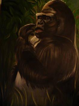 Gorilla in the Mist by Linda Mungerson