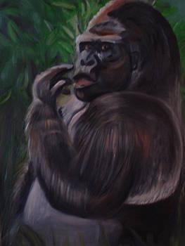 Gorilla by Linda Mungerson