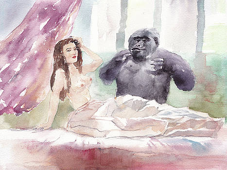 Gorilla of Lusty Dream by Yimeng Bian