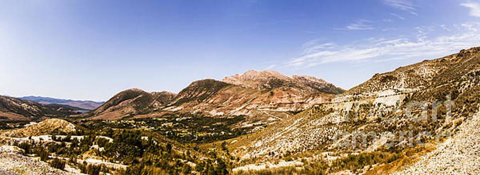 Gormanston Tasmania mountain panorama by Jorgo Photography - Wall Art Gallery