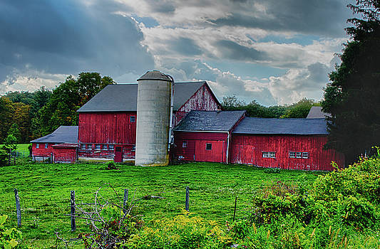 Goshen Connecticut Historic New England Barn by Skelyte Photography by Linda Rasch