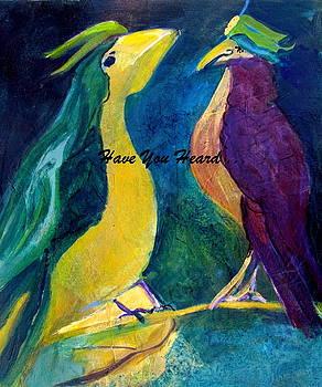 Gossip Between Birds by Betty Pieper