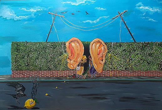 Gossipers by Lazaro Hurtado