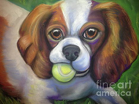 Got Balls? King Charles by Ann Hoff