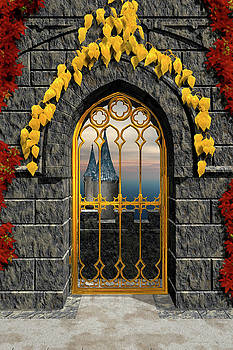Gothic Gate by David Griffith