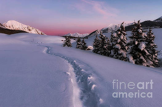 Gothic Mountain sunrise Crested Butte Sunrise by Tibor Vari