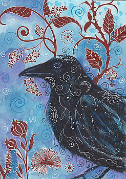 Gothic Raven by Laurel Porter-Gaylord