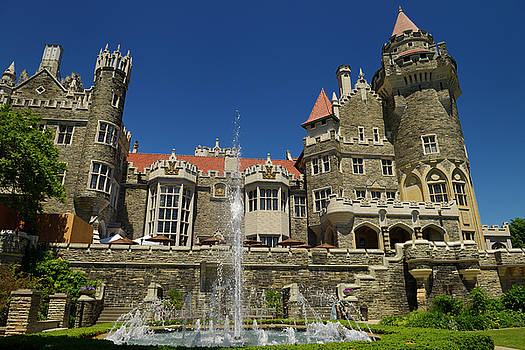 Reimar Gaertner - Gothic revival architecture of Casa Loma castle in Toronto with