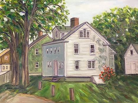 Gott House, Rockport, MA by Richard Nowak