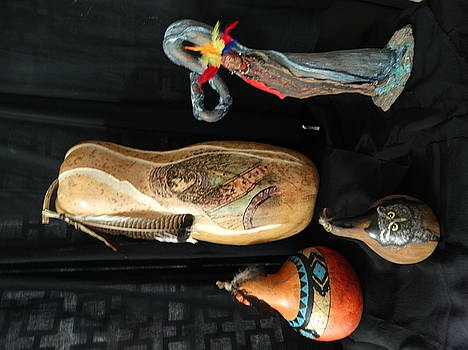 Gourds by Sandra Durning