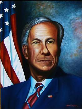 Gov Greg Abbott by Gene Gregory