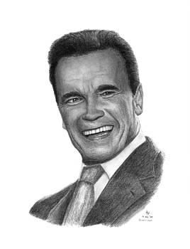 Governor Arnold Schwarzenegger by Charles Vogan