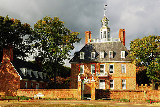 Governors Palace by James Kirkikis