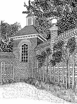 Governor's Palace, Trellises by Dawn Boyer