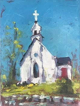 Grace Episcopal Church by Susan E Jones