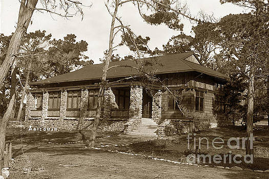 California Views Mr Pat Hathaway Archives - Grace H Dodge Chapel Auditorium Asilomar circa 1925